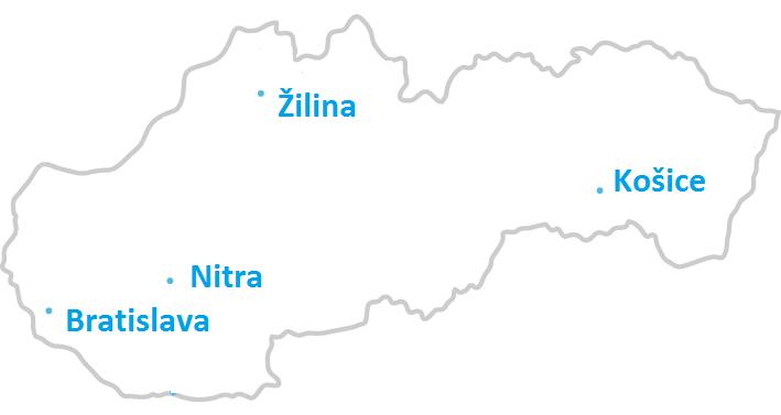 Kurzy IT - Bratislava, Nitra, Žilina a Košice